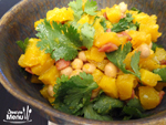 My Roast Squash and Chickpea Salad Recipe