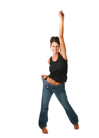 Happy woman experiencing one of the 5 Benefits of Physical Activity