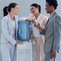 Visiting the water cooler at work Workplace Ergonomics Tips
