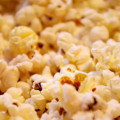 Diet Myths about pop corn bad for you - close up 3