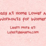 Easy At Home Lower Ab Workouts for Women