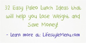 Thumbnail for post about Paleo Lunch Ideas